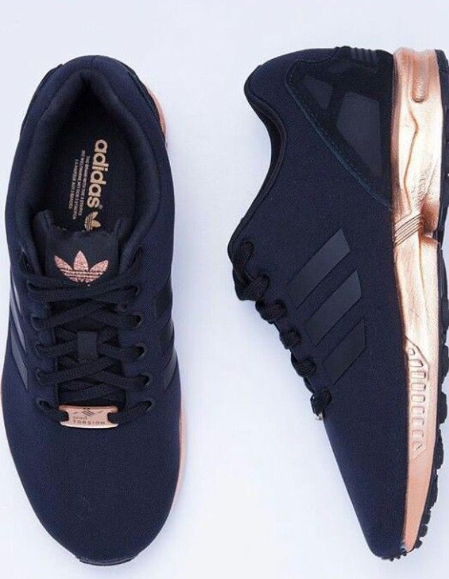 adidas zx flux women gold