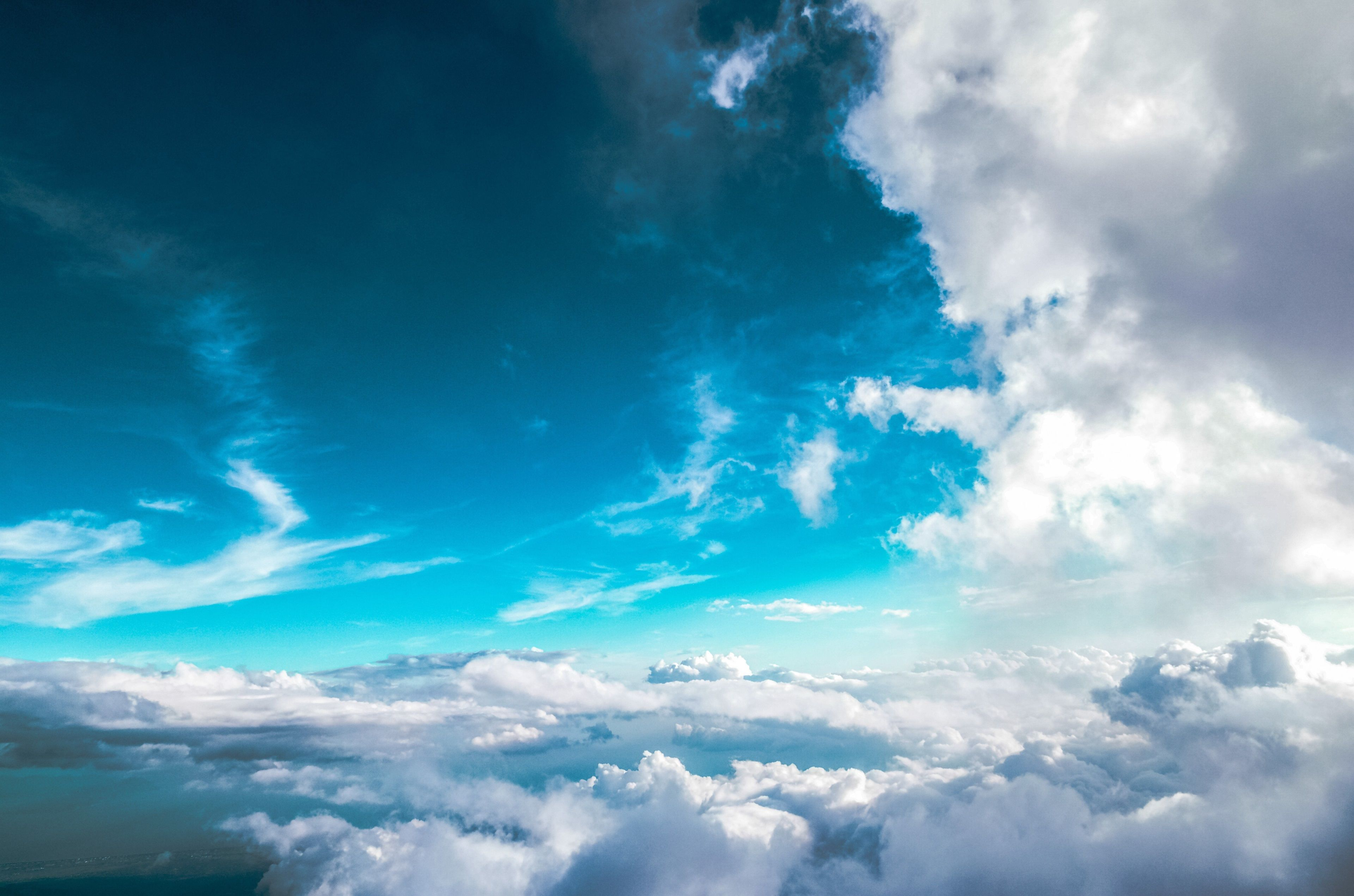 3840x2542 Clouds 4k Best Desktop Wallpaper Free Download Clouds Wallpaper Iphone Blue Sky Wallpaper Blue Sky Clouds