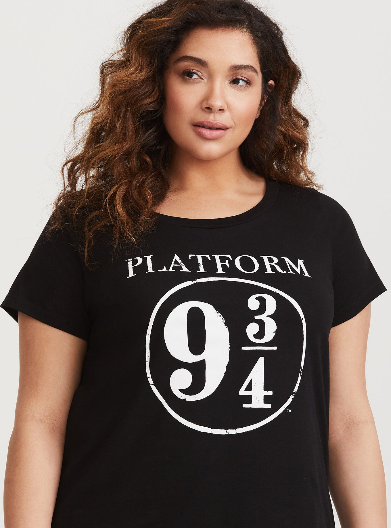 71baba56797 Plus Size Harry Potter Platform 9 3 4 Tshirt