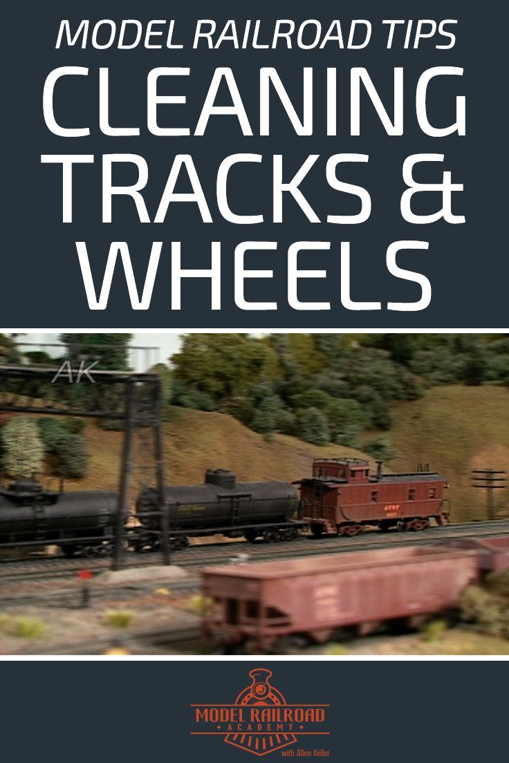 How to Clean Model Train Tracks and Wheels | scenery | Model