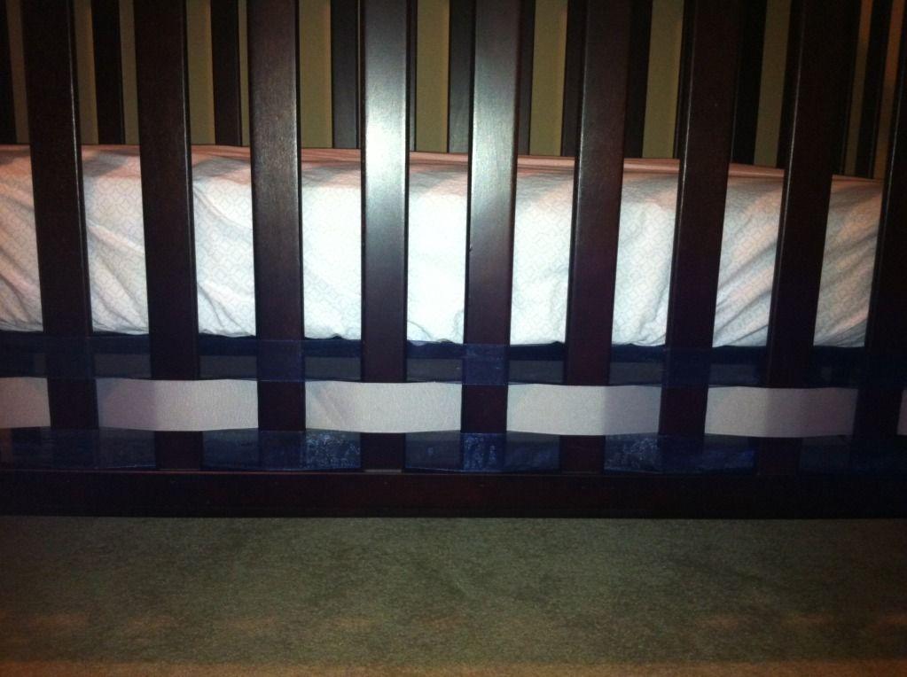 ribbon crib skirt!