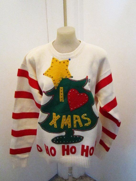 The Grinch Ugly Christmas Sweater Xlarge Ready To Ship The Grinch