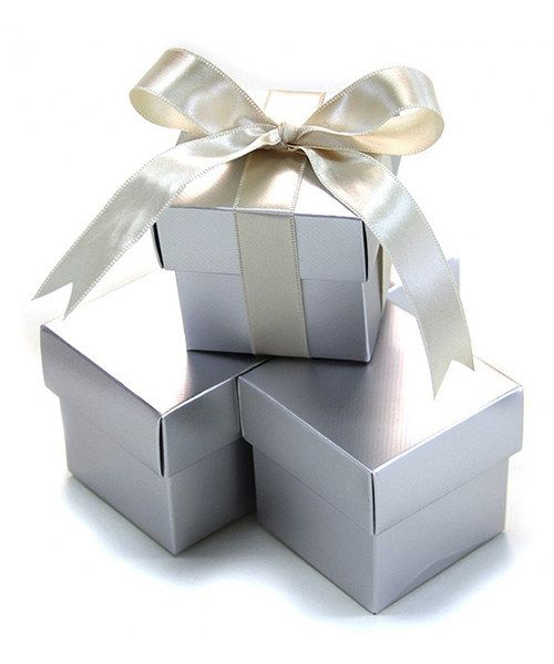 Look At This Silver Favor Box Set Of 10 On Zulily Today Joyeux