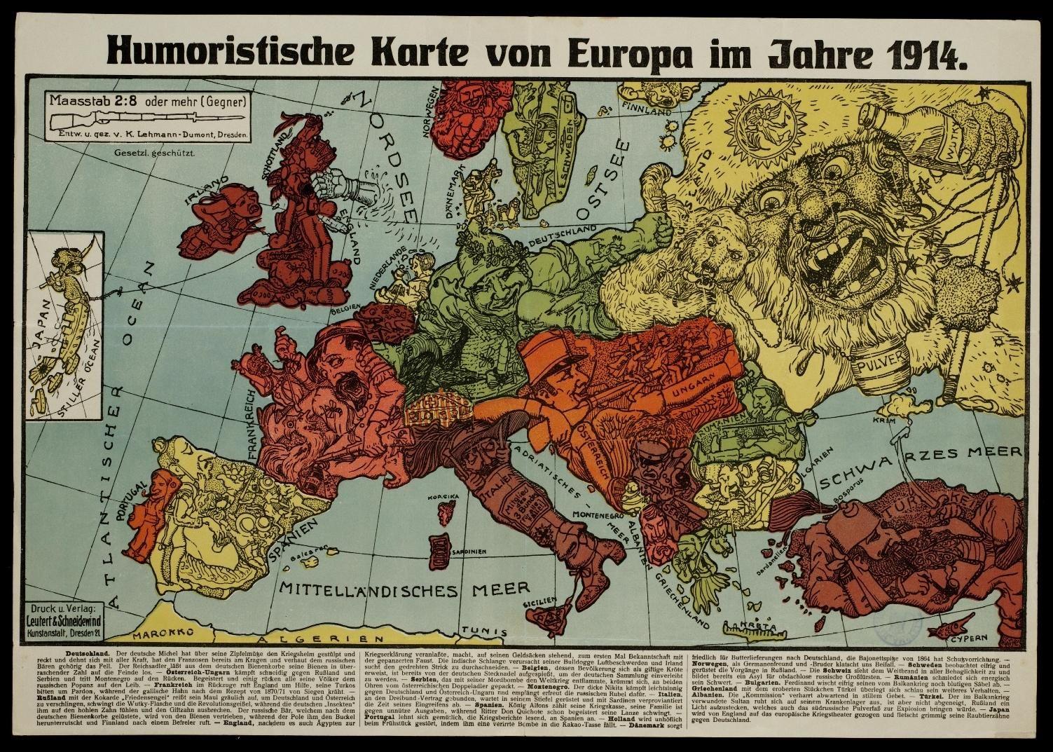 Des Cartes Satiriques A Travers L Histoire Map Cartography