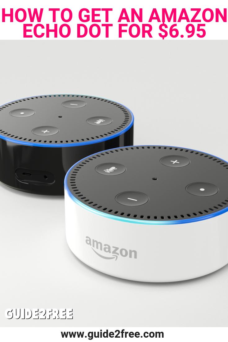 How to Get an Amazon Echo Dot for 4.99 Echo dot, Amazon