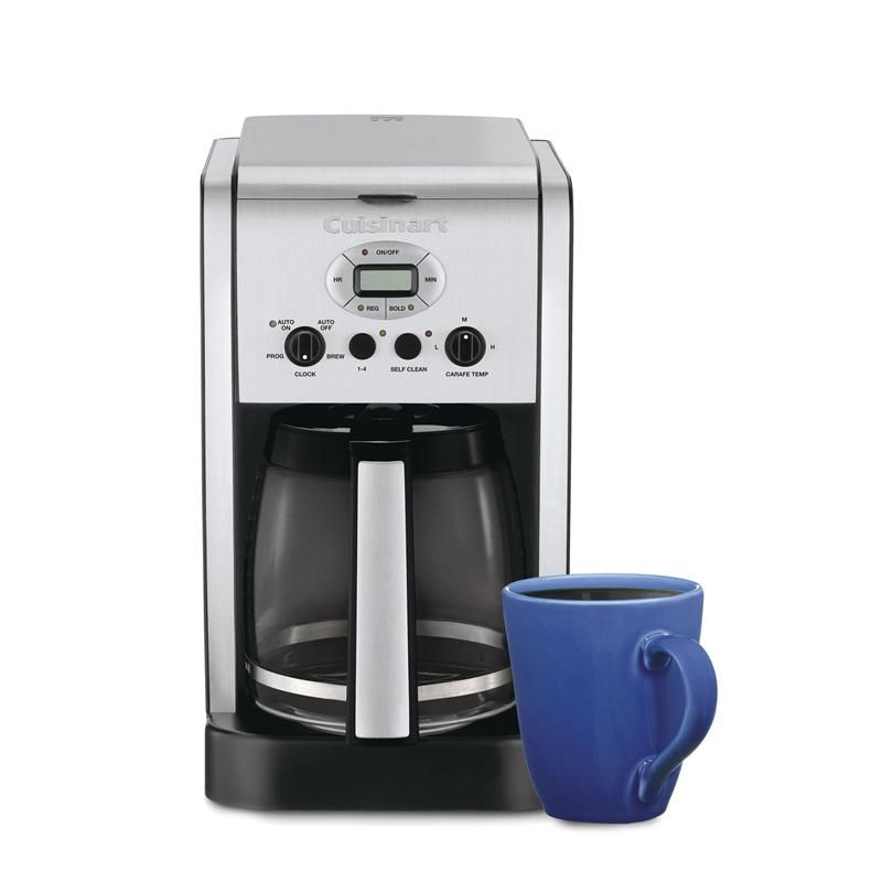 Cuisinart brew central coffee maker wglass carafe 14cup