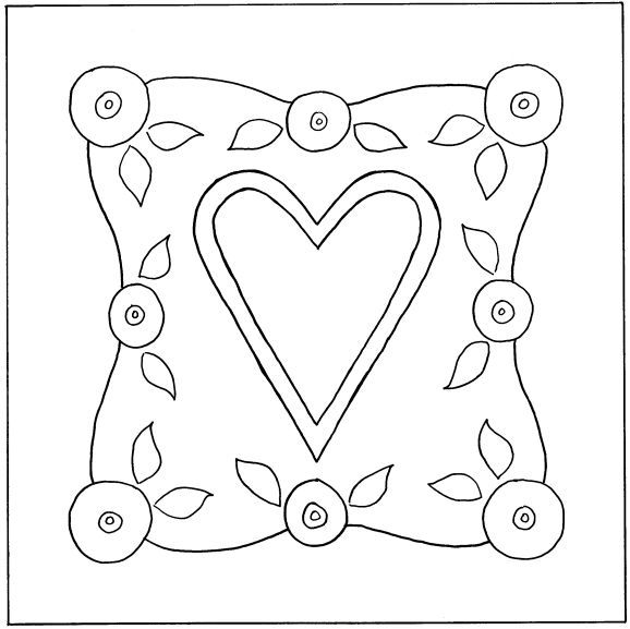 designs in wool.com - heart | Paswo | Pinterest | Bordado, Molde y ...