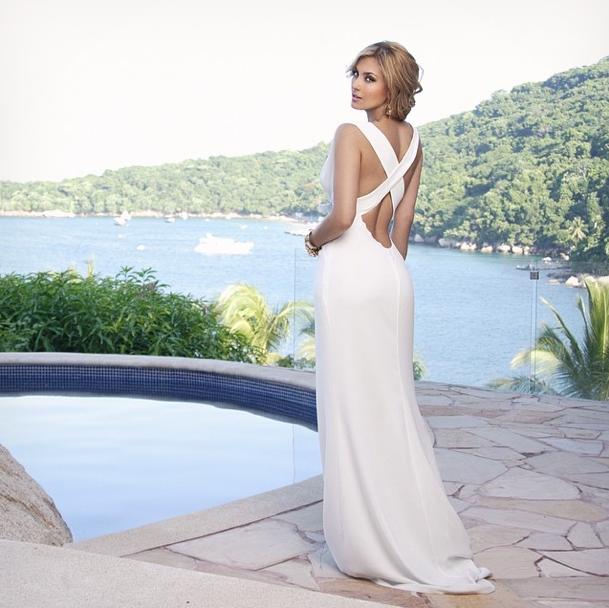 Vestido de novia de aracely arambula