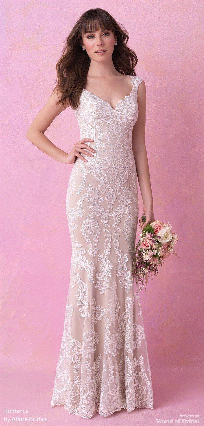 Romance by Allure Bridals Fall 2018 Wedding Dresses | Pinterest ...