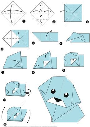 How To Make An Origami Dog Step By Instructions