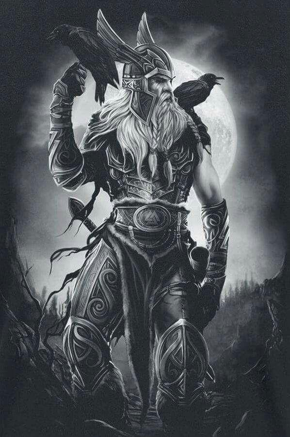 Viking Illustration                                                                                                                                                                                 More