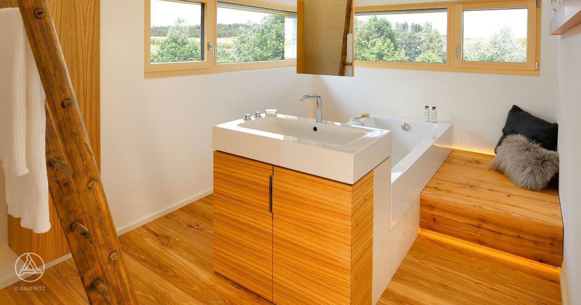 Das Musterhaus Alpenchic ist eines der innovativsten Musterhäuser - badezimmer bauhaus