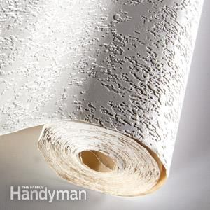 Wall Liner Is Basically Wallpaper But It S Much Thicker And Paintable Read More About Here