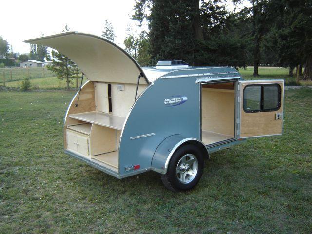 Adventure Teardrops Building A Teardrop Trailer Teardrop Camper Trailer Lightweight Camping Trailers