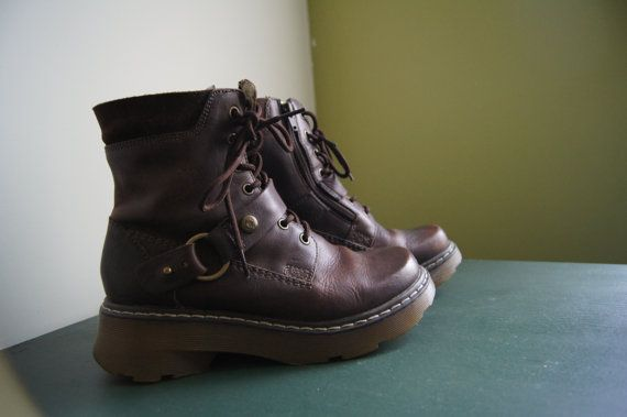 Doc Martens Gamma 7eye Boot Brown By Thevintagetrekker On Etsy