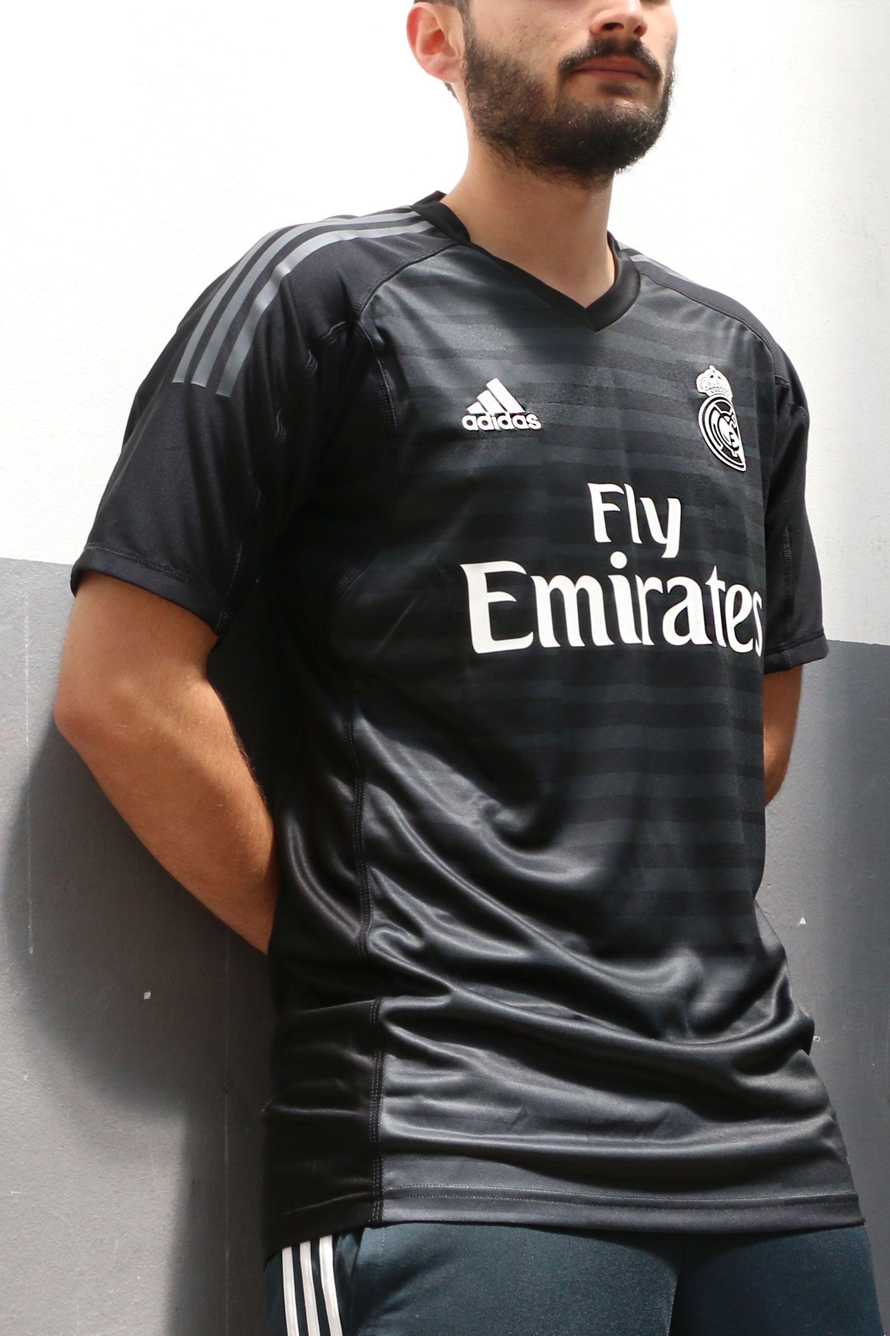 Camiseta de portero Real Madrid 2018 - 2019 - negra  a9a1f8fd77787