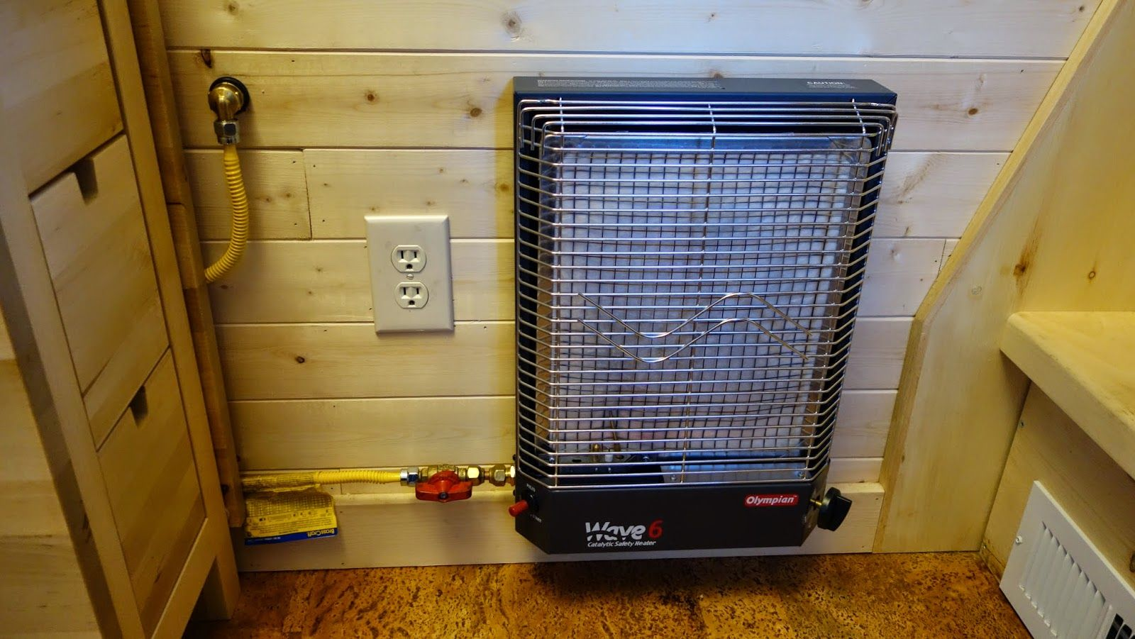 tiny house propane heater. Non Electric Radiant Propane Heater (non-flame) Tiny House