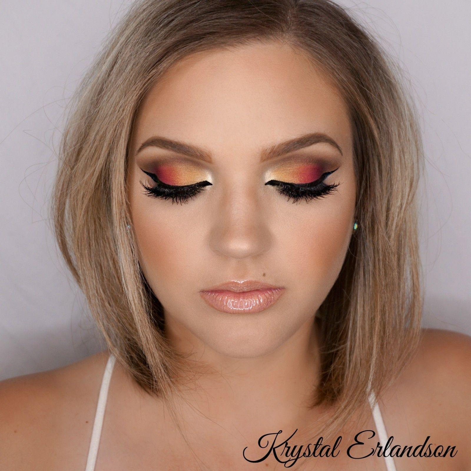 tropical sunset Makeup Tutorial Makeup Geek Makeup