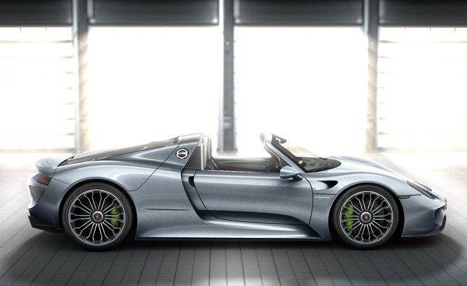 Pricing Announced For Porsche 918 Spyder Porsche 918 Spyder Porsche Auto Zubehor