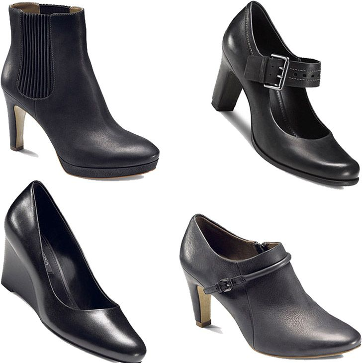 Classy, Black Shoes For Every Occasion From ECCO On