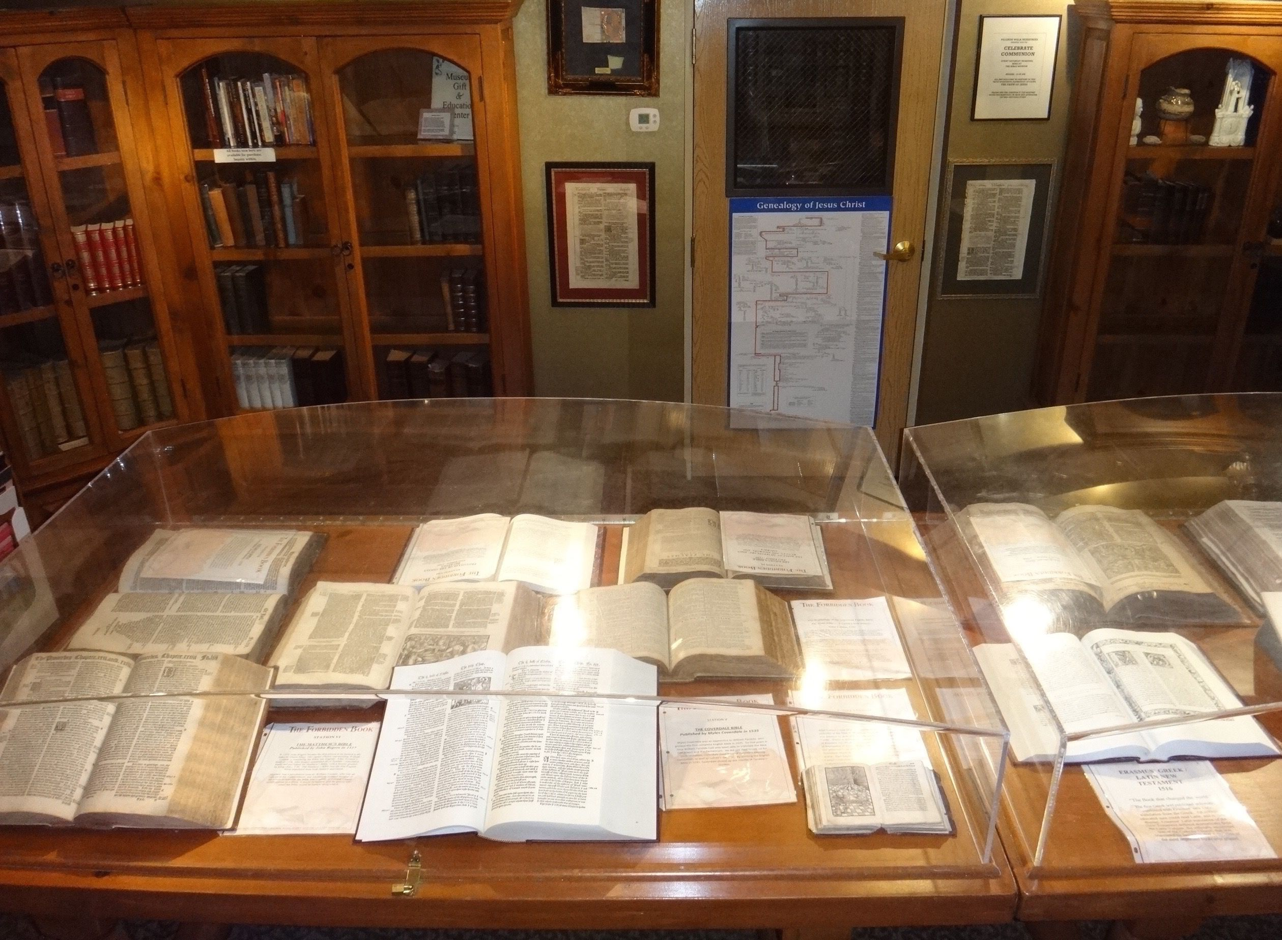 The Bible Museum Showroom Display The Worlds Largest For Sale Collection