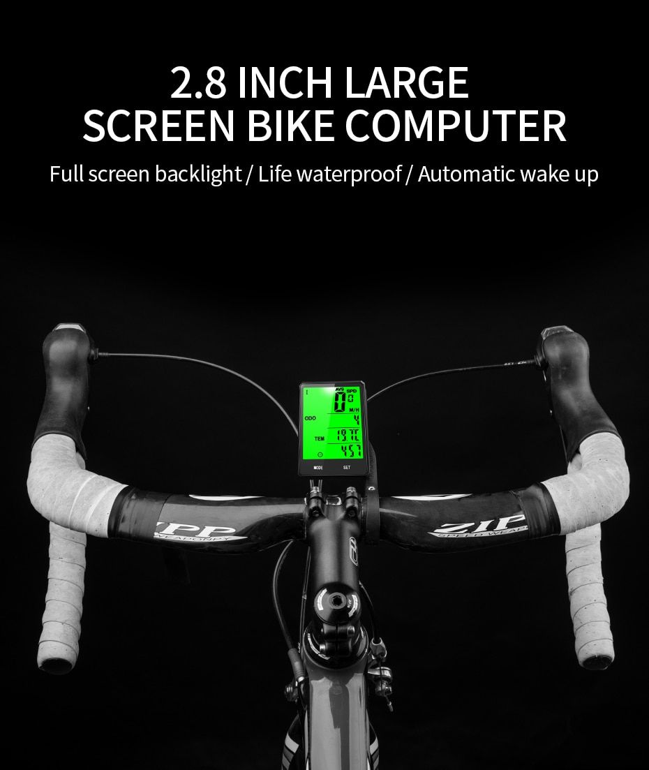 Bicycle Odometer With Lcd Back Light Portable Durable And Convenient Easy To Rea Bicycle Accessories Bicycle Accessories Helmets Bicycle Accessories Gadgets