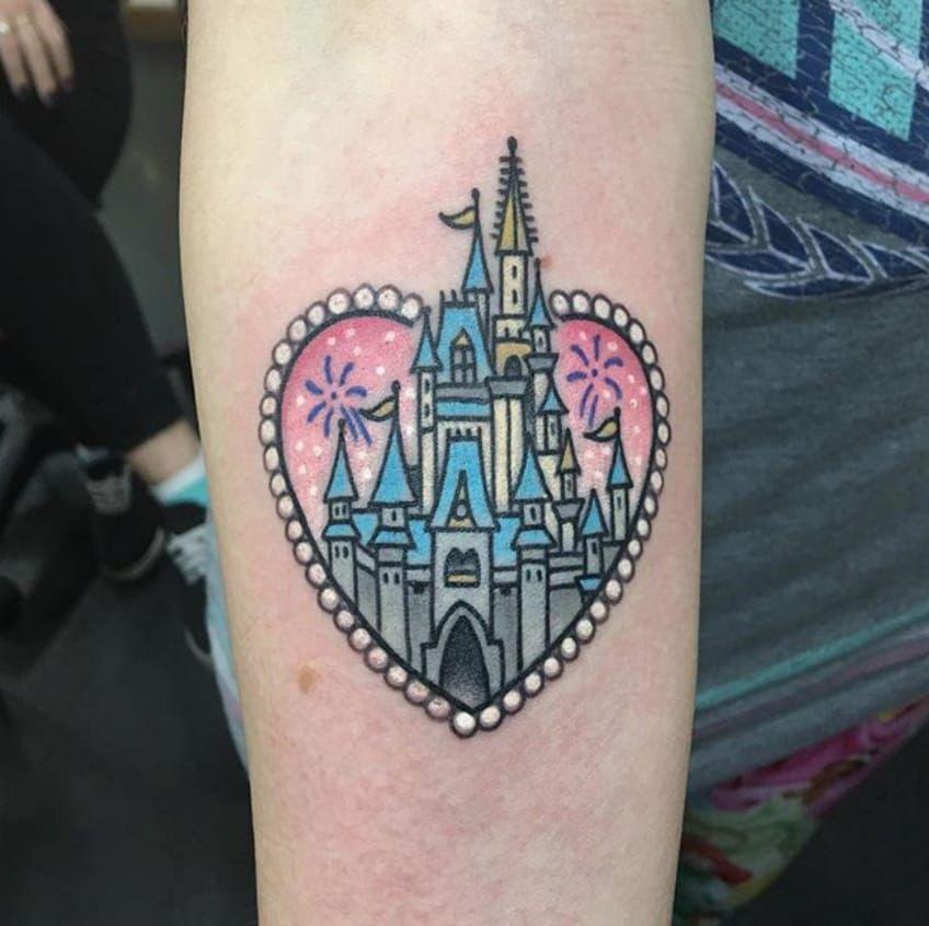 Castle Heart tattoo