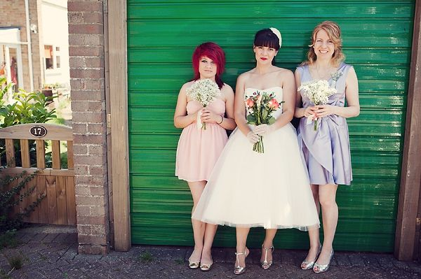 mismatched bridesmaids, image by Sacco & Sacco Photography