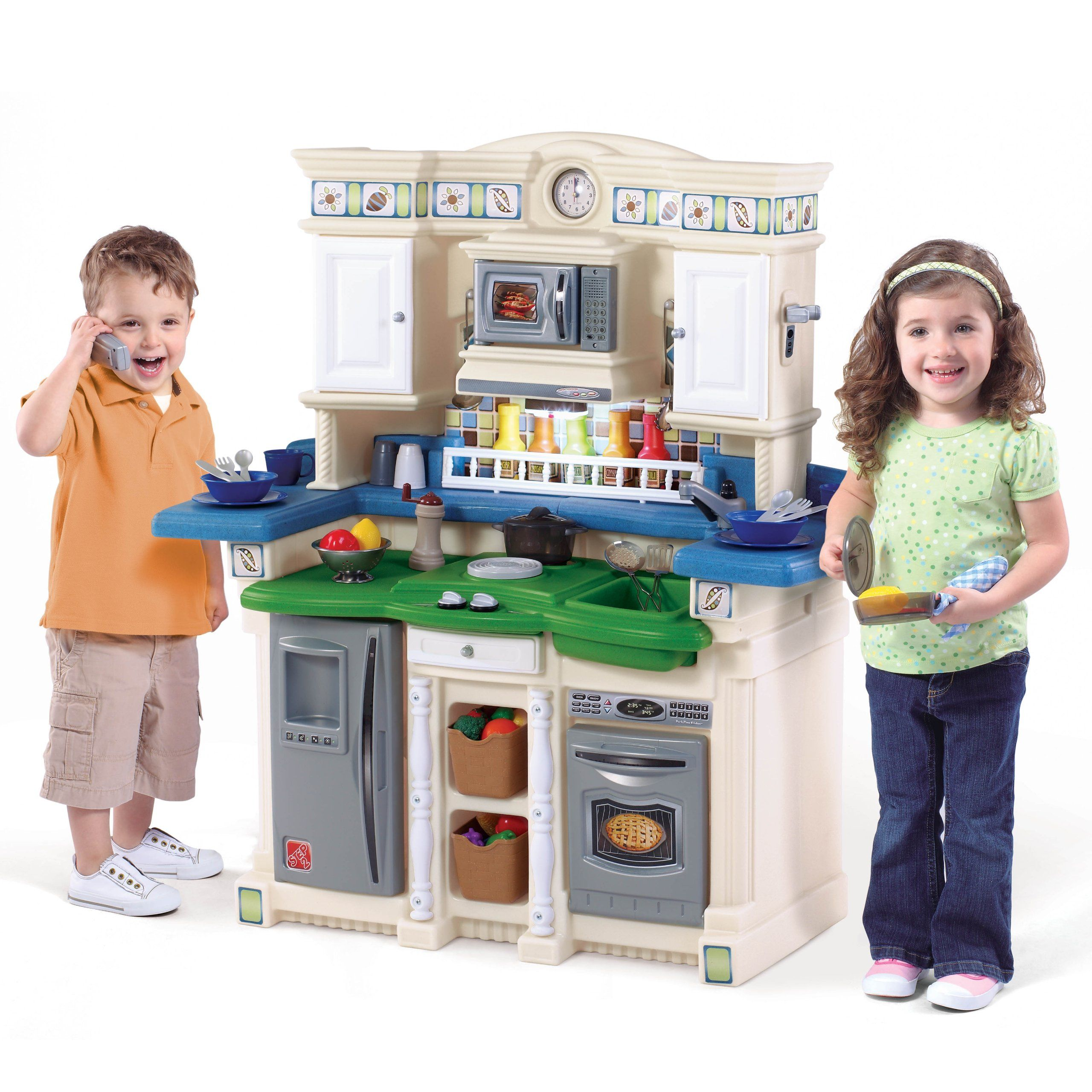 Amazon Com Step2 Lifestyle Partytime Kitchen Toys Games