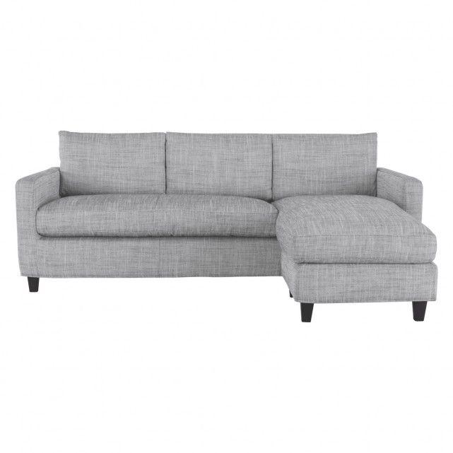 Chester Black White Italian Woven Fabric 3 Seat Chaise Sofa Chaise Sofa Chaise Buy Sofa