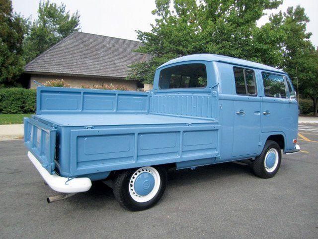 1971 Volkswagen Double Cab Pickup