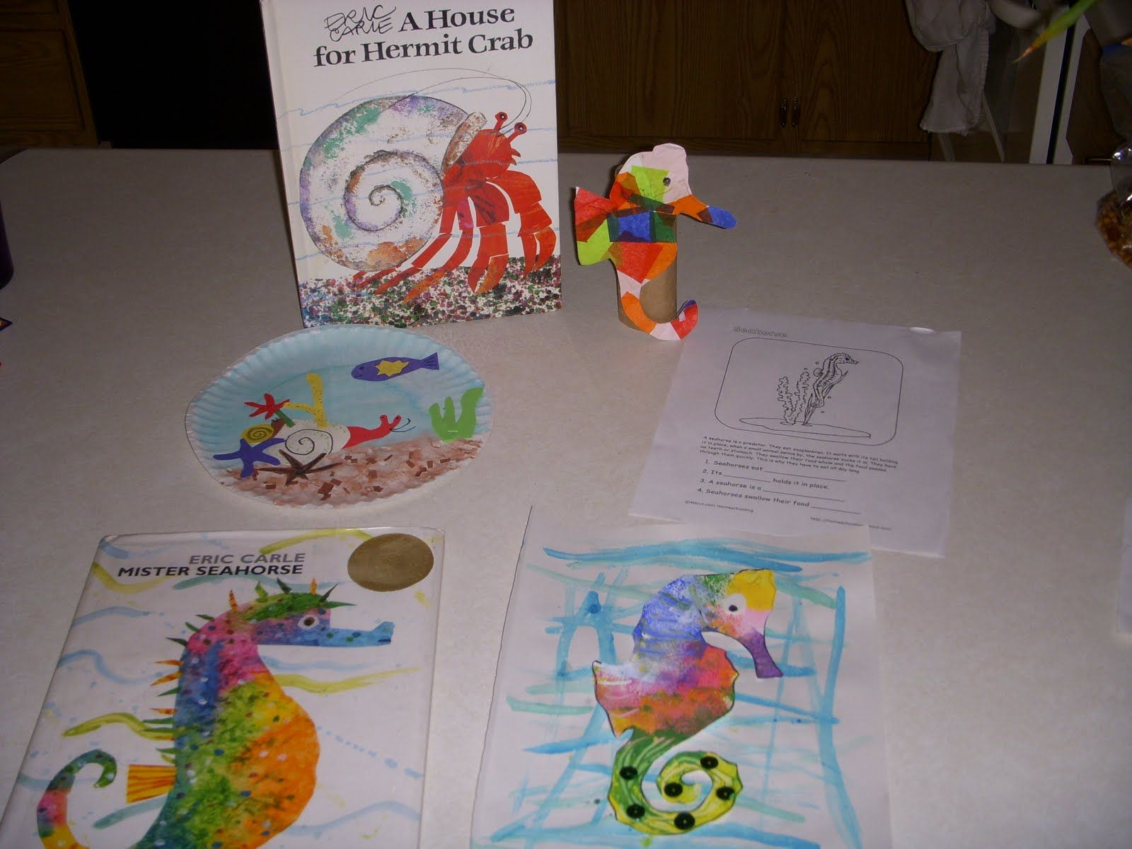 Eric Carle Art Activities