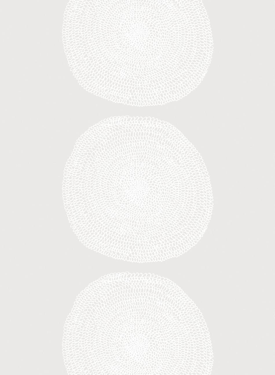 Pippurikerä cotton batiste (white,white)  Fabrics, Sateens & Batistes   Marimekko