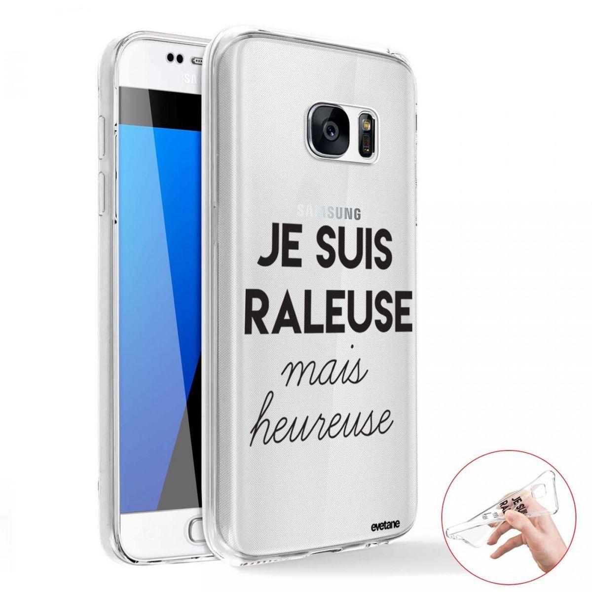 Coque Samsung Galaxy S7 360 Intégrale Transparente, Raleuse Mais ...