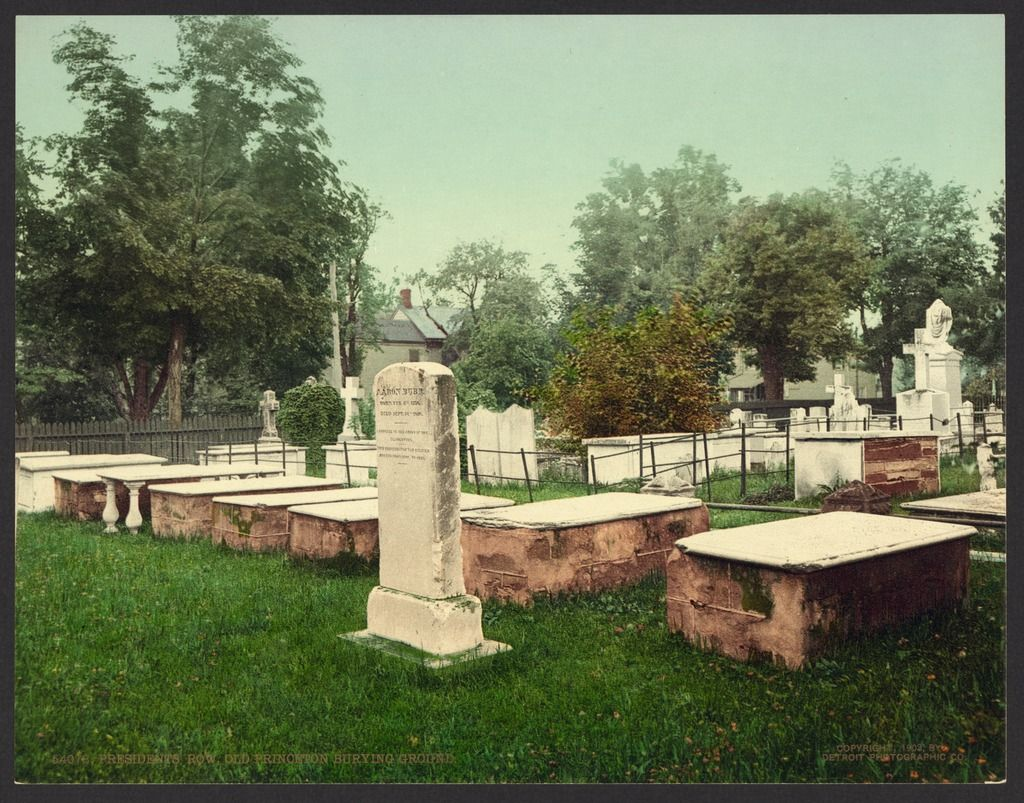 Stephen(Grover) Cleveland's burial place at Princeton Cemetery located at 61 Nassau Street, Princeton, New Jersey