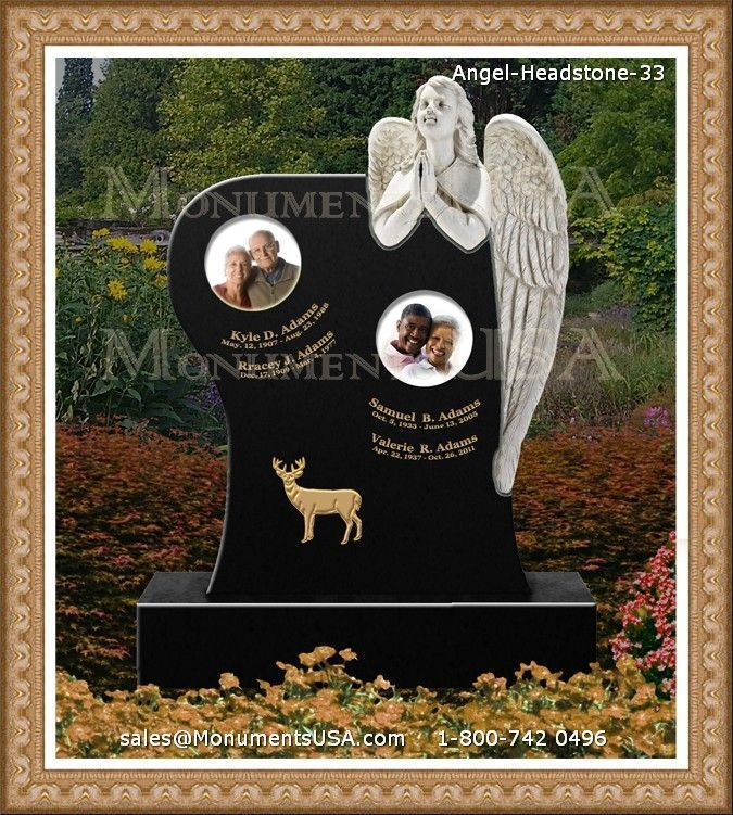 Small Angel Statues For Graves: Headstones, Cemetery Statues