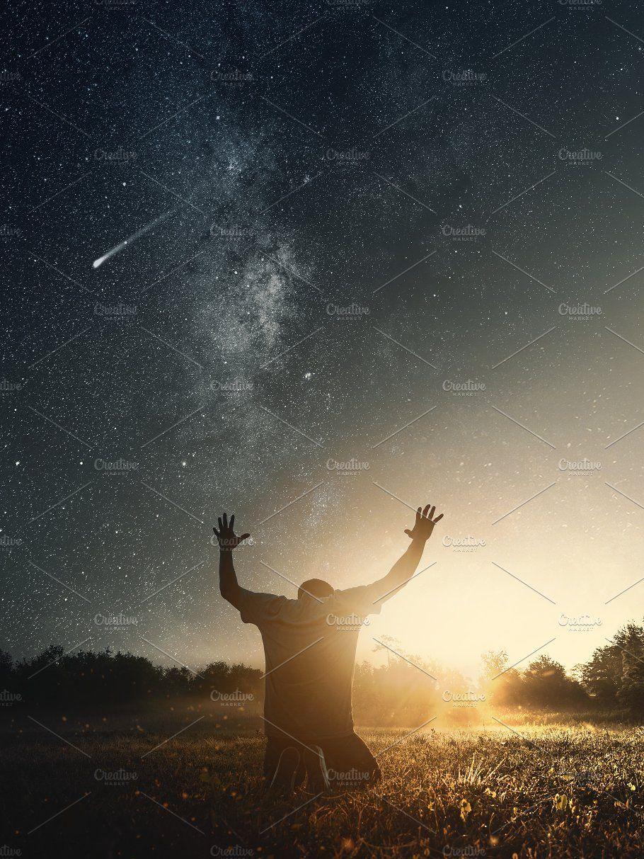 Grateful Man Praying To God Man Praying Pray Wallpaper Christian Photography