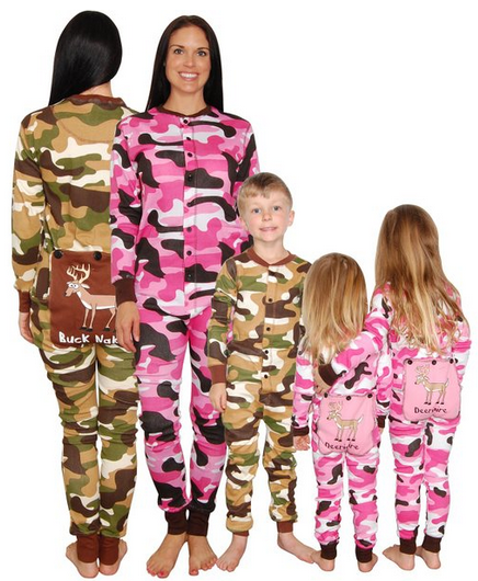 446bccd1575ee I WANT THESE how fun are these camo pajamas for the whole family. Family  PJ's, Ducky Dynasty fashion