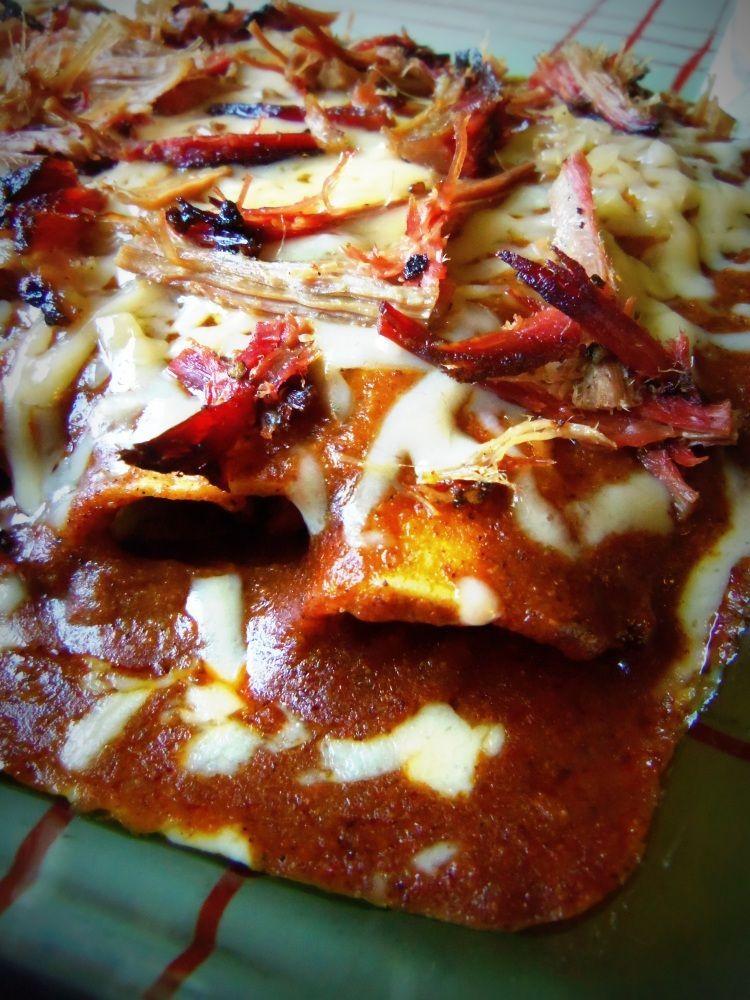 Brisket Enchiladas With Texas Gravy Sauce Hispanic