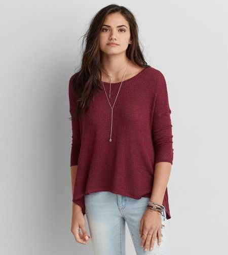AEO Feather Light Pullover Sweater - Buy One Get One 50% Off ...