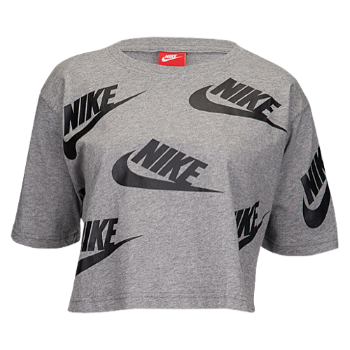 b5049582a13f Nike Futura Crop T-Shirt - Women s at Champs Sports