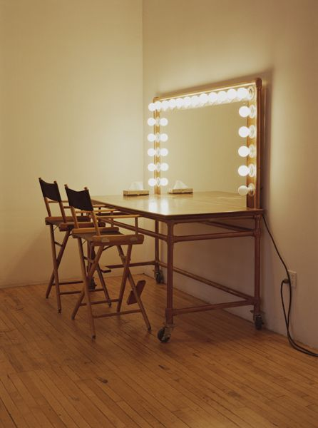 Makeup Table With Lights   Google Search