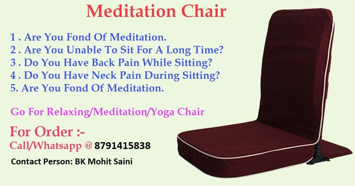 Foldable Meditation Yoga Relaxing Chairs Meditation Chair