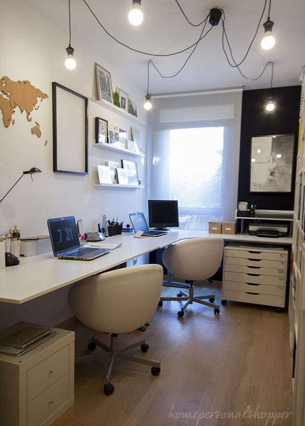 Mi nuevo espacio de trabajo en casa pinterest trabajos - Decorar despacho en casa ...