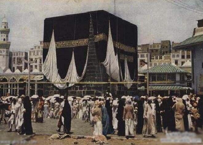 الحرم المكي قديما Kaba Beautiful Mosques Mecca