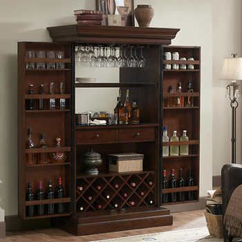 843a4f0468 Fenwick Wine Bar in 2019 | Furniture for house | Armoire bar, Bar ...
