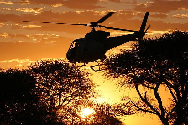 Beautiful Helicopter By Paul Job Sunset Photography Aviation Art