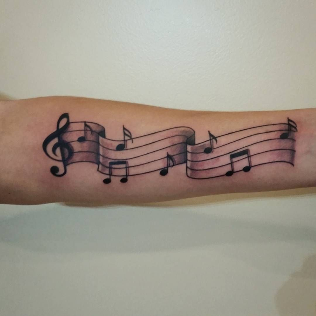 75 Lovely Music Note Tattoo Ideas For Those Who Is In Love With