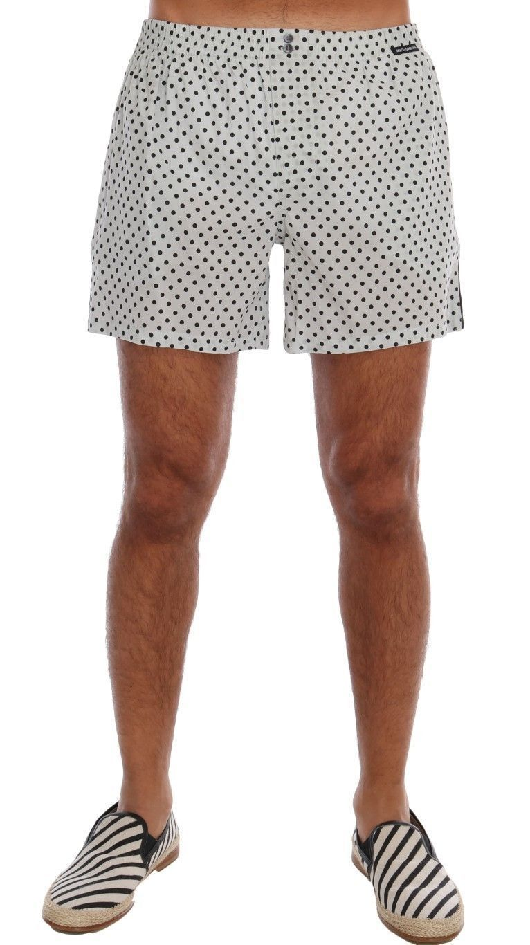 Dolce & gabbana mens light blue polka dot pajama shorts #lightblueshorts model:?pajama shorts material :?100% silk color: light blue with polka dot great luxury feeling logo details made in italy - RETAIL PRICE: 260 Euro #lightblueshorts Dolce & gabbana mens light blue polka dot pajama shorts #lightblueshorts model:?pajama shorts material :?100% silk color: light blue with polka dot great luxury feeling logo details made in italy - RETAIL PRICE: 260 Euro #lightblueshorts