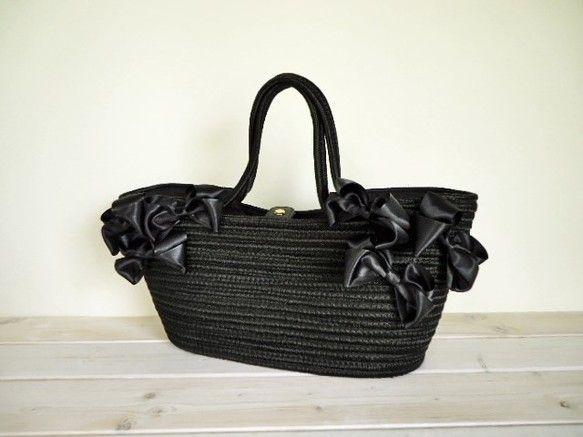 Атласная лента Овальная корзина сумка S418   корзина сумка   troisruban   ручной почтовый заказ и продажа Creema